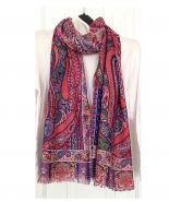 Multi colour pashmina scarf